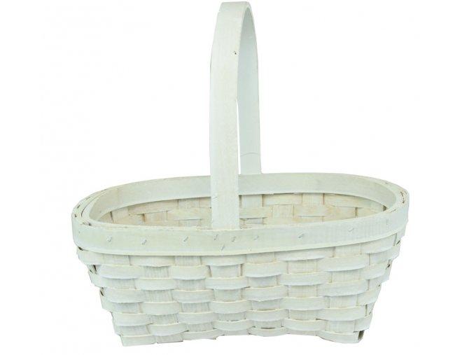 Košíček bílý