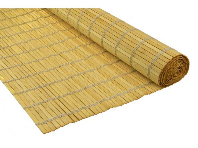 Bambusová rohož za postel přírodní (Rozměry (cm) 90x300)