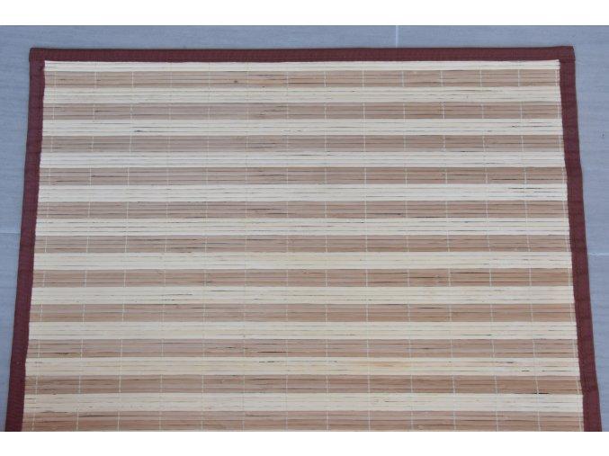 Rohož za postel pruhovaná (rozměry (cm) 90x200)