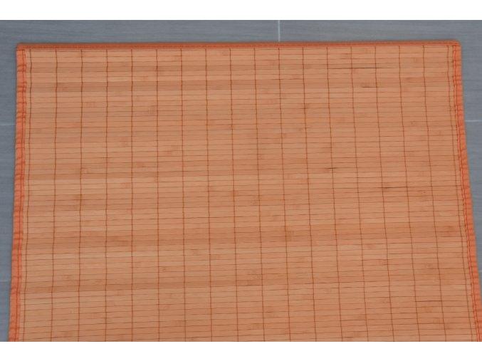 Rohož za postel oranžová (rozměry (cm) 90x200)