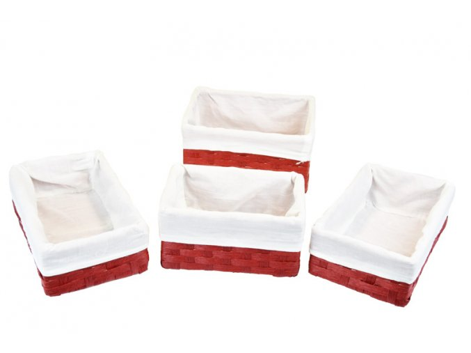 16869 sada 4 uloznych boxu cervenych