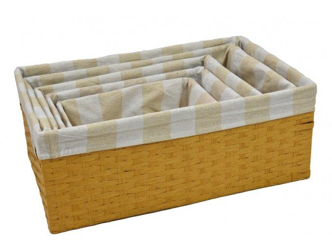 Úložný box pískový