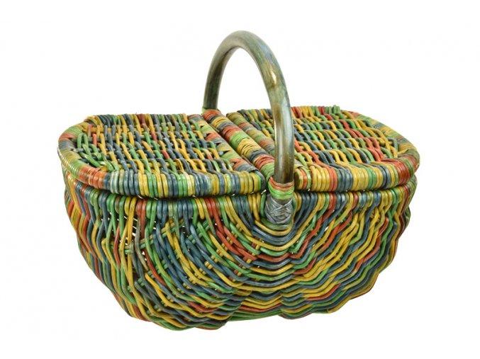 17280 ratanovy kos na piknik barevny