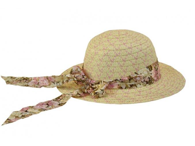 Dětský klobouk růžový