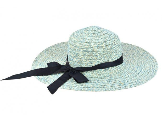 18548 2 damsky klobouk melirovany svetle modry