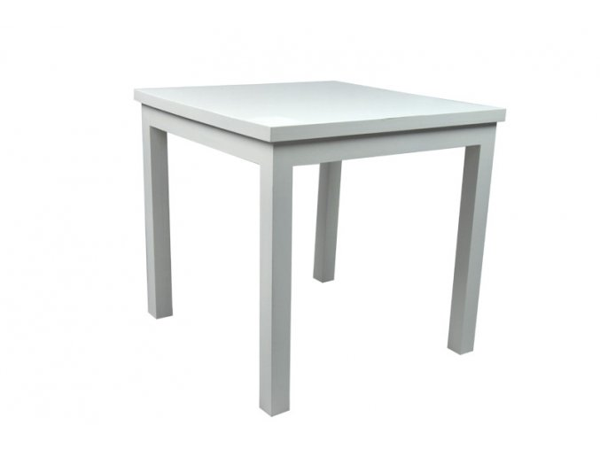 Dřevěný stolek bílý