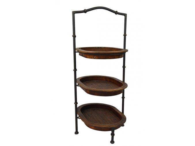 18782 1 prirucni stolek se 3 polickami