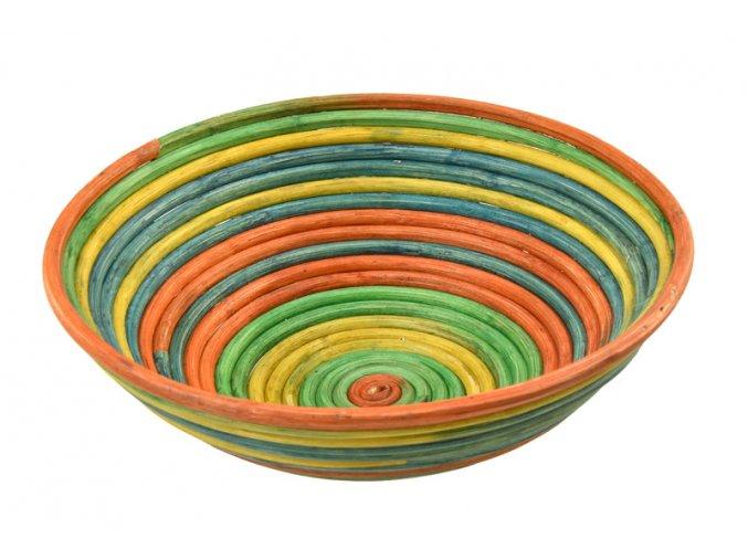 Ratanová ošatka na chleba – barevná
