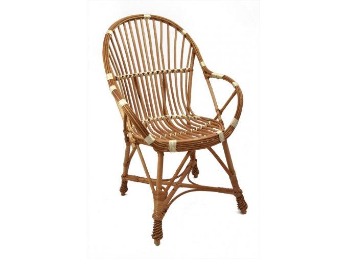 Proutěná židle
