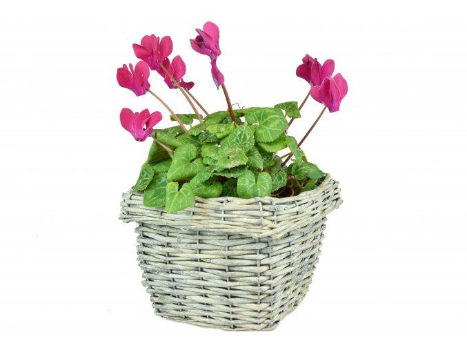 5459 2 kvetinac ctverhrany sedy