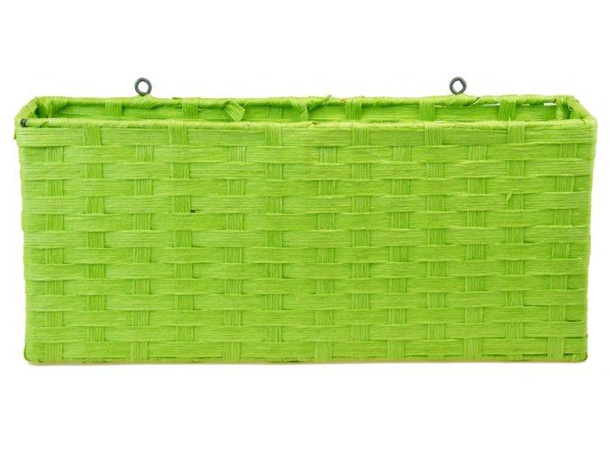 Závěsný úložný díl Vingo zelený