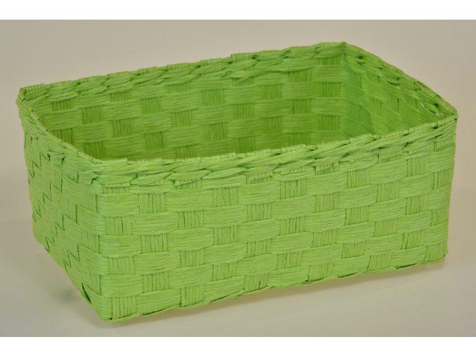 Sada 3 košíčků zelených