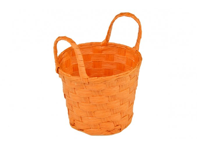 Sada 2 košíčků oranžových