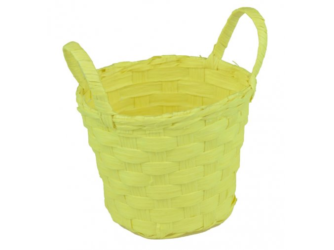 Sada 2 košíčků žlutých