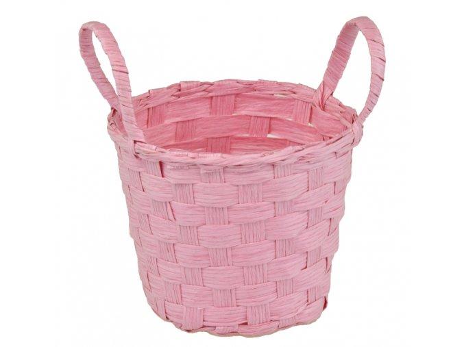 Sada 2 košíčků růžových