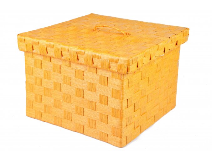 Sada 3 dóz oranžových (Rozměry 22x30x30|20x25x25|18x21x21)
