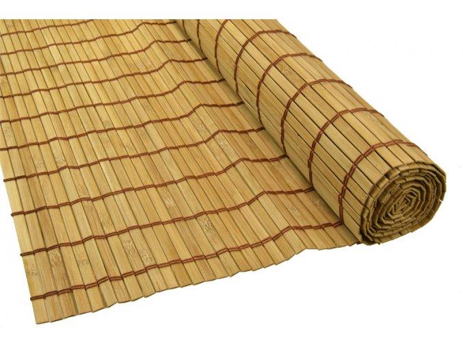 Bambusová rohož za postel hnědá (Rozměry (cm) 90x300)