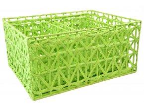 Sada 3 úložných boxů  zelených (rozměry boxu Sada  22x46x36|20x42x32|18x30x18)