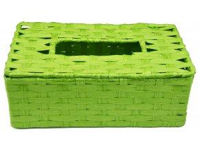 11783 box na kapesniky zeleny