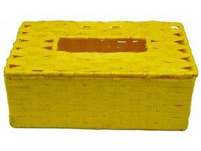 11789 box na kapesniky zluty