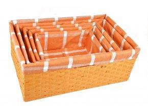 Úložný box oranžový (rozměry (cm) 30x20, v. 12)