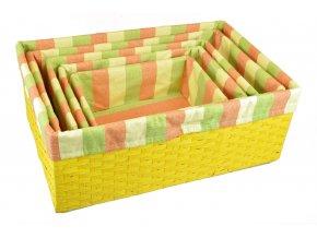 Úložný box žlutý
