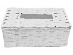 12595 box na kapesniky bily