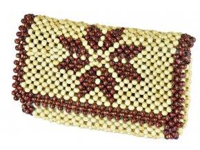 Korálková kabelka - psaníčko