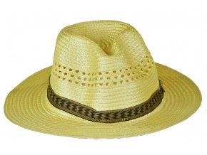 Slaměný klobouk pánský