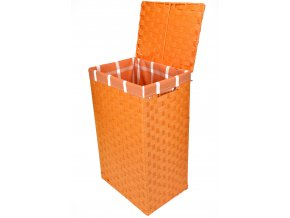Koš na prádlo oranžový (rozměry (cm) 36x26, v. 58)