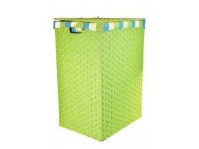 Koš na prádlo zelený