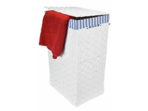 Koš na prádlo bílý