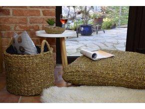Hranatý sedací polštář