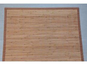 Rohož za postel hnědá (rozměry (cm) 90x200)