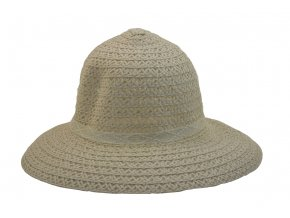 Dámský letní klobouk světle krémové barvy