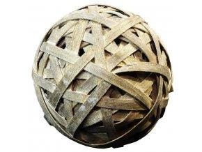 16392 vanocni dekorace koule seda 2 ks
