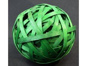 Vánoční dekorace koule zelená