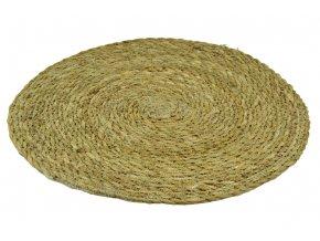 Kulatý koberec z mořské trávy