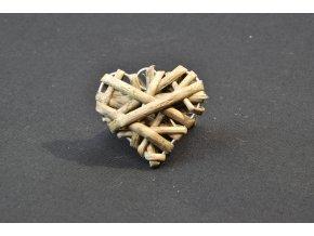 Srdíčko šedé malé -5 ks