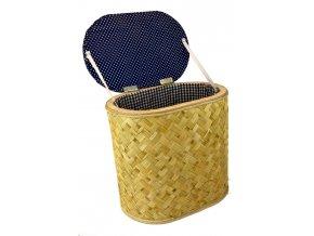Koš na prádlo se sedátkem (rozměry (cm) 40x26, v. 38)