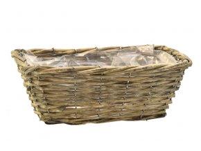 18269 hranaty sedy truhlik kosicek z prouti