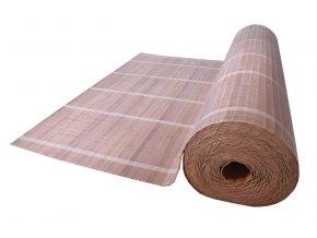 Světle hnědá bambusová rohož za postel - metráž (Rozměry (cm) 90x600)