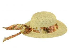 Dětský klobouk krémový