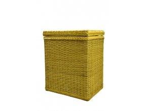 18653 ratanovy kos na pradlo medovy