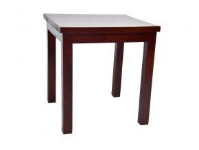 Dřevěný stolek hnědý