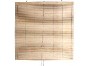 Dřevěná roleta na terasu – přírodní (Šířka x délka 150x200)
