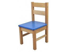 Dětská židlička – modrá