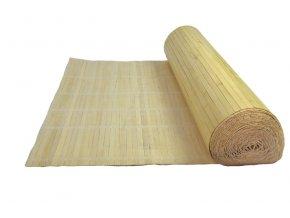Přírodní bambusová rohož za postel - metráž