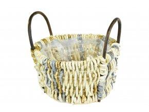Květináč košík s úchyty
