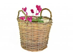 Kulatý květník na chryzantémy